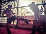 omid im sparring
